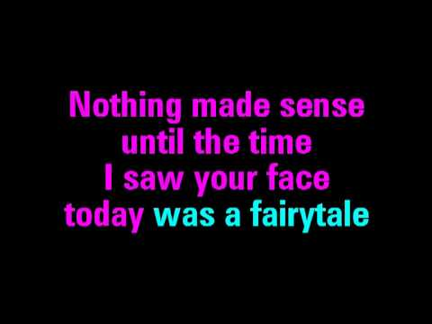 Today Was A Fairy Tale Taylor Swift Karaoke - You Sing The Hits
