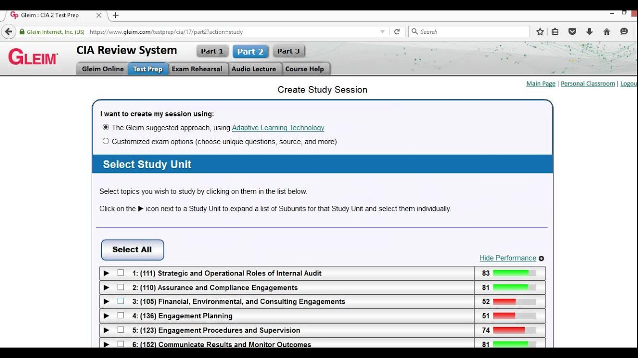 Gleim Private Pilot Test Prep Online Software Overview