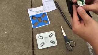 Honda Civic 2015 Wheel Lock Installation DIY Easy, also for Accord CR-V Pilot 2016 2014 2013