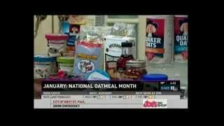 A New Twist on Oatmeal (1/14/14 on KARE 11)