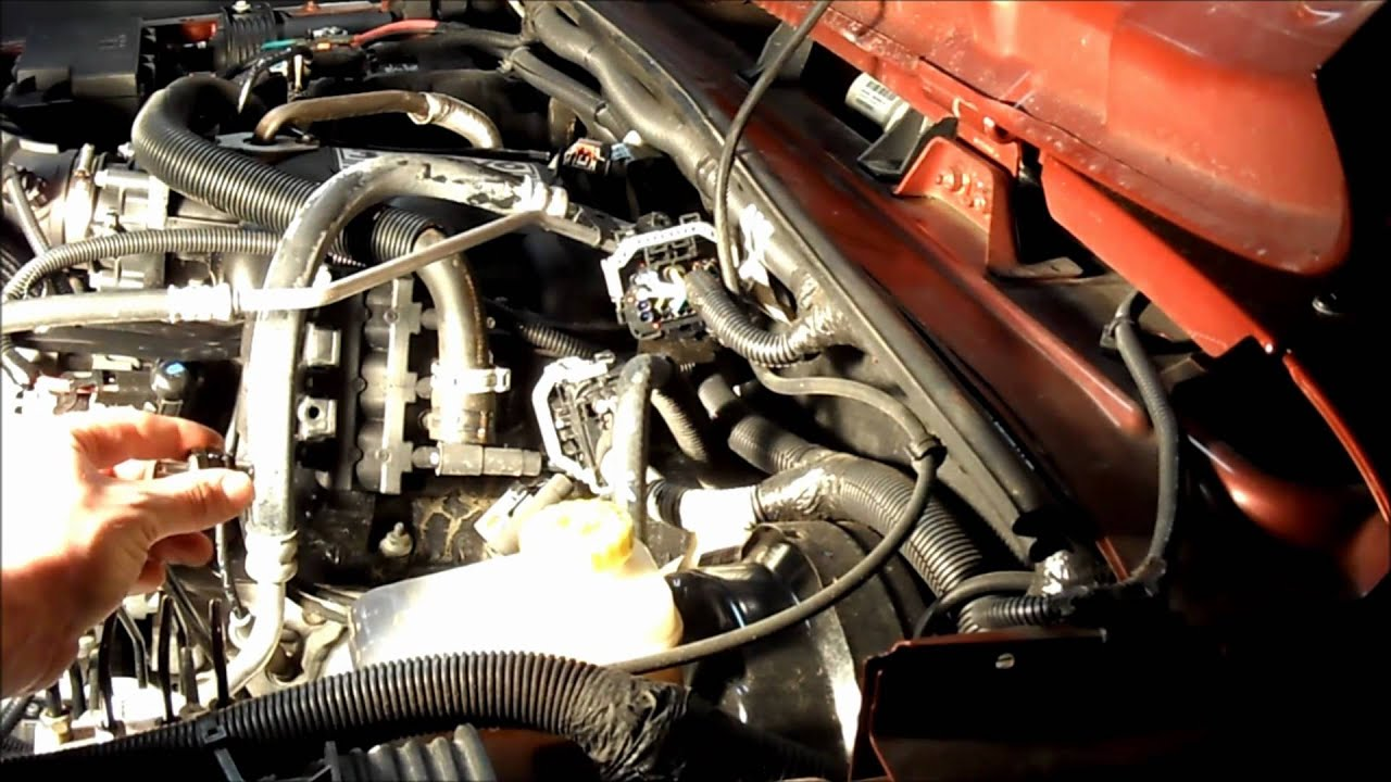Jeep Wrangler Rubicon 3 8 V6 Pcv Removal And Installation