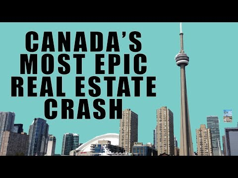 THIS IS IT! The Great Canadian Real Estate Crash Has Begun as Sales Drop MASSIVE 40%!
