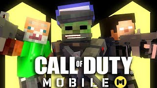Monster School : CALL OF DUTY MOBILE - Minecraft Animation