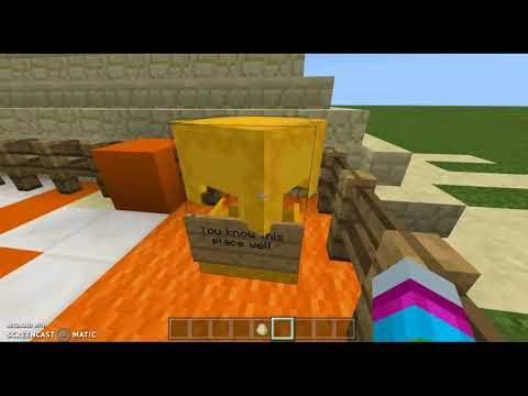 Easter egg hunt [Minecraft] you chose my boat dealership