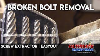 Screw extractor | easyout | broken bolt removal