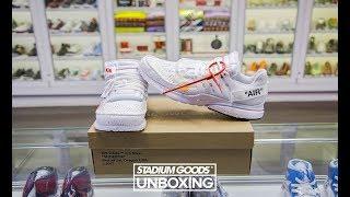 Unboxing the 2018 Off-White x Nike Presto in White