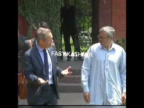 Video: omar abdullah meet with norway ambassador and also meet with beru constitutency people and di