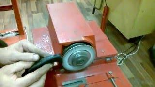 Oprava keramického nože- úprava střenky