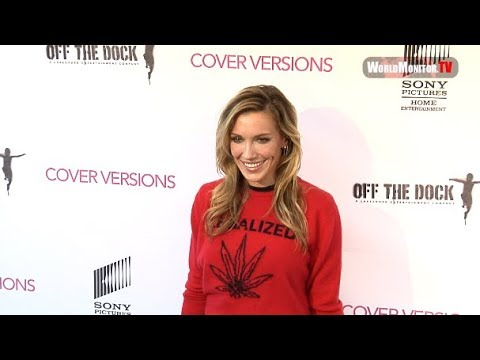 Katie Cassidy arrives at 'Cover Versions' Los Angeles premiere