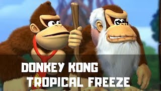 Donkey Kong Tropical Freeze — we don't know how to play!