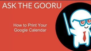 How to Print Your Google Calendar(, 2012-05-03T13:57:36.000Z)