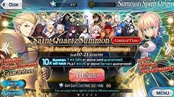 Fate Grand Order NA: 2019 2nd Anniversary Banner summon