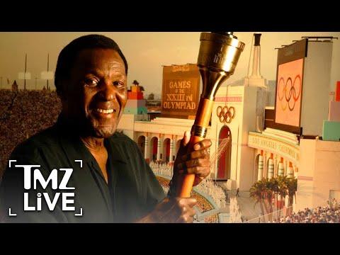 Olympic Legend & American Hero Rafer Johnson Passes Away at 86 | TMZ Live