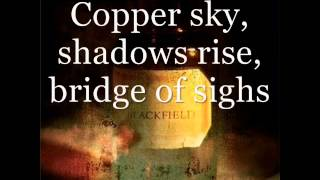 Blackfield - Blackfield (lyrics on screen)