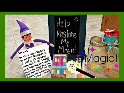 Purple Elf on the Shelf Compilation Ideas! Sparkles Returns After Christmas 2016 - 2017