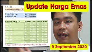 Harga Emas 9 September - Harga PERHIASAN TERBARU!!!