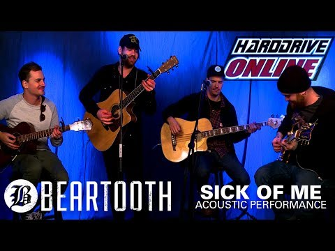 BEARTOOTH - SICK OF ME acoustic performance