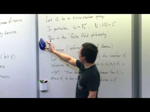 Arithmetic Applications of Pseudorandomness I