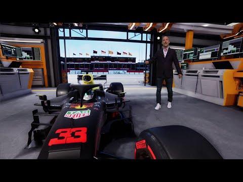 Ziggo Sport Formula 1 Show with Exciting AR | Reality Virtual Studio