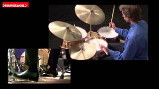 John Riley Drum Clinic: The Headroom Concept: Improvising Snare & Bass Drum Patterns