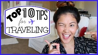 Top 10 Tips For Traveling + GIVEAWAY ✈︎