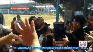 Will Smith aterriza en campo de futbol de Morelos   Noticias con Ciro Gómez