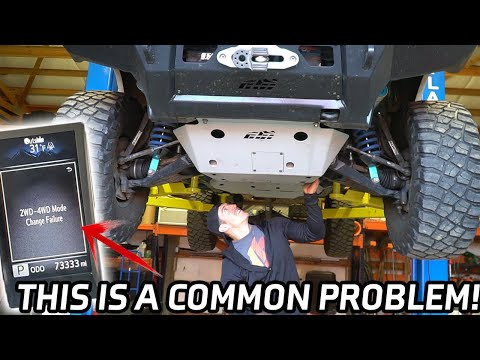 Toyota Tacoma's 4×4 Issues | 2wd to 4wd change failure How To Fix