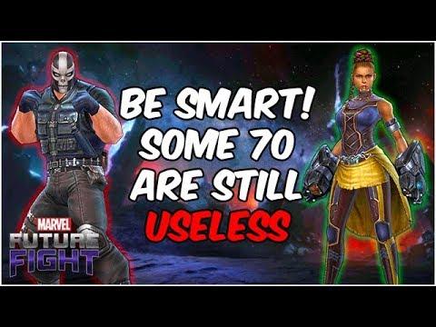 False Hope? Choose Carefully! Some Level 70 = TRASH! - Marvel Future Fight