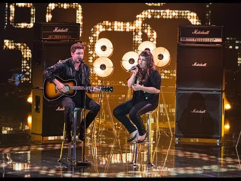 Tiziana Gulino & Bastian Baker - Follow The Wind - Finale - The Voice of Switzerland 2014