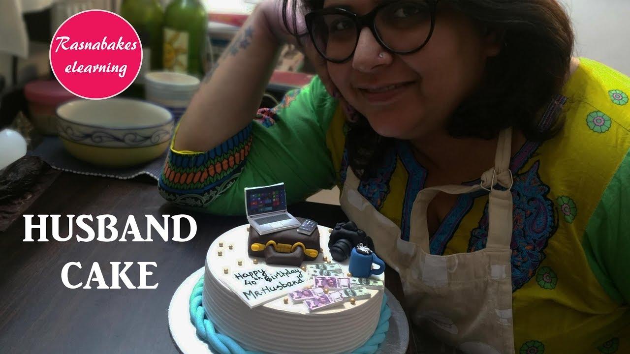 Birthday Cake Design For Men Husband Cake Cake Decorating Ideas