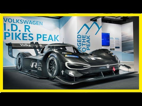 VW unveils its radical all-electric I.D. R Pikes Peak racer