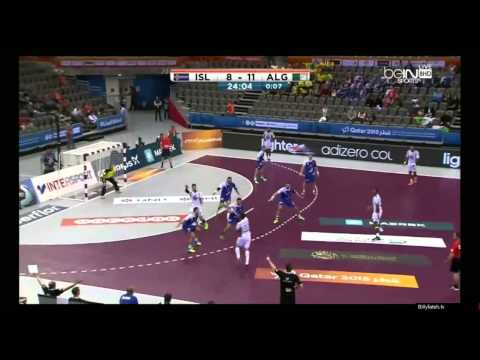 Iceland VS Algeria Game2 Full QATAR HANDBALL 2015 - YouTube