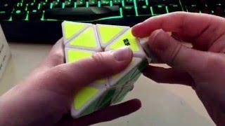 unboxing moyu pyraminx moyu aosu 4x4 svenska