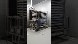 훈제 구운계란기계 1500판 기계