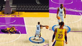 NBA 2K20 Mobile My Career EP 3 - 1v1 vs LeBron! Ankle Breaker!!