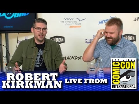 ROBERT KIRKMAN | SAN DIEGO COMIC-CON 2016 LIVE SHOW!