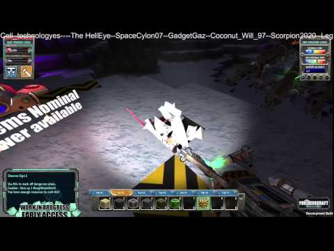 FortressCraft Evolved Multiplayer Day 3