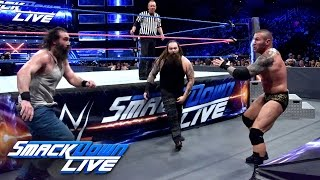 Randy Orton & Kane vs. Bray Wyatt & Luke Harper: SmackDown LIVE, Oct. 11, 2016