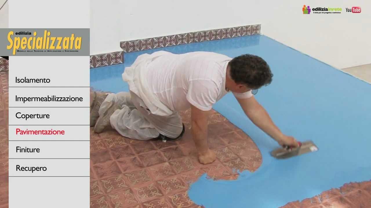 Riqualificazione della pavimentazione con resina epossidica