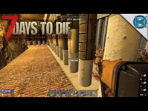 7 Days to Die | Horde Day Prep & Building | Let's Play 7 Days to Die Gameplay | Alpha 15 S15E73