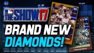2 NEW DIAMONDS! CHIPPER JONES & COLE HAMELS! MLB The Show 17 Diamond Dynasty Update (6-2-17)