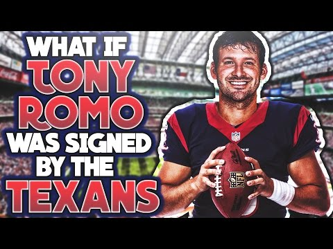 """""""WHAT IF"""" TONY ROMO WAS SIGNED BY THE HOUSTON TEXANS?"""