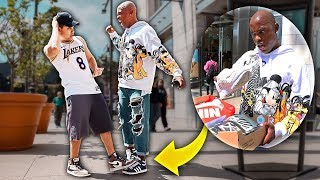 Stepping On Hypebeast Adidas & Giving Them Nikes!