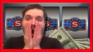 I HIT THE WRONG BUTTON! NNNOOOO!!! SDGuy REJECTS A GLORIOUS OFFER ACCIDENTLY ON TOP DOLLAR SLOT!