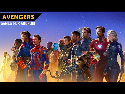 Top 5 AVENGERS Games For Android | Latest Marvel Games | Licit