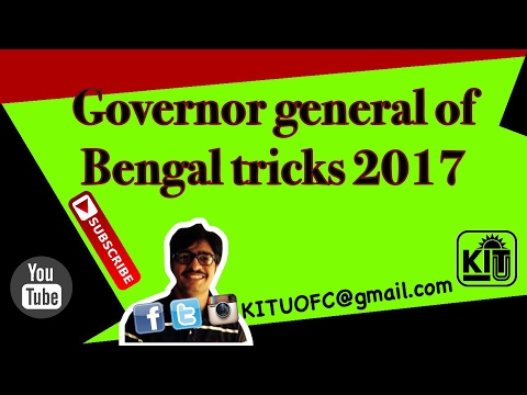 Governer general of bengal explained in hindi with trick for IAS,SSC, competition exam