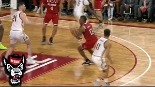 NC State's C.J. Bryce Drops A Pretty Pass To DJ Funderburk