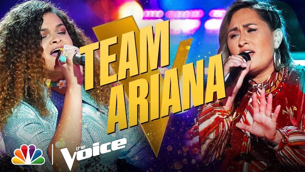Download Team Ariana's Katie Rae and Raquel Trinidad Deliver Powerful Performances | The Voice Knockouts 2021