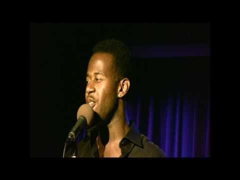 Marcus Paul James sings title number of Bobby Cronin's live CD