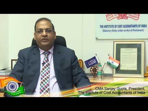 CMA Sanjay Gupta, President, ICMAI Message on Independence Day